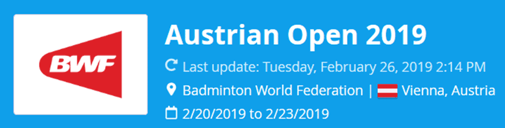 austrian open 2019 lat