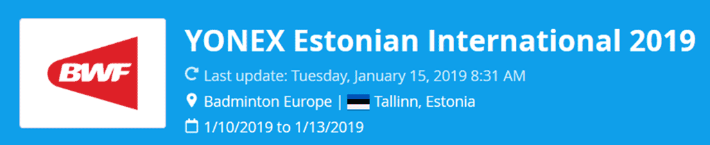 estonian international 2019 lat