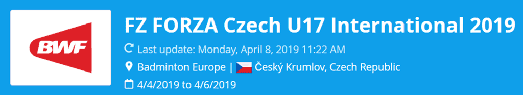 czech u17 international 2019 lat