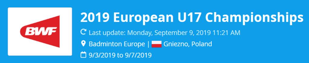 european u17 championships 2019 lat