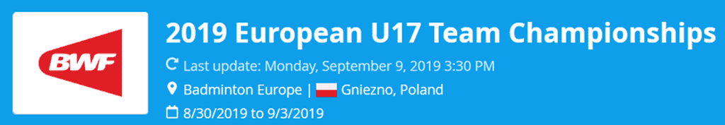 european u17 team championships 2019 lat