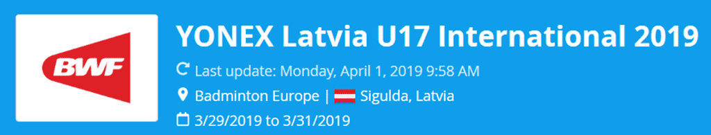 latvia u17 international 2019 lat