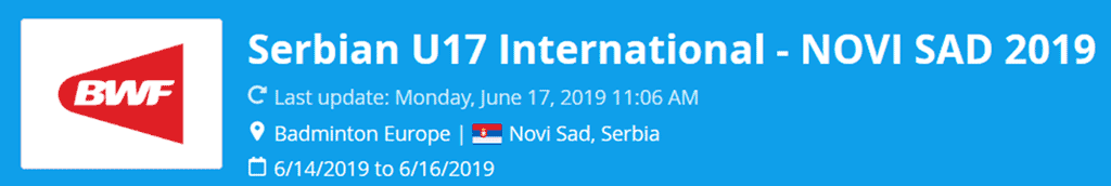 serbian u17 international 2019 lat