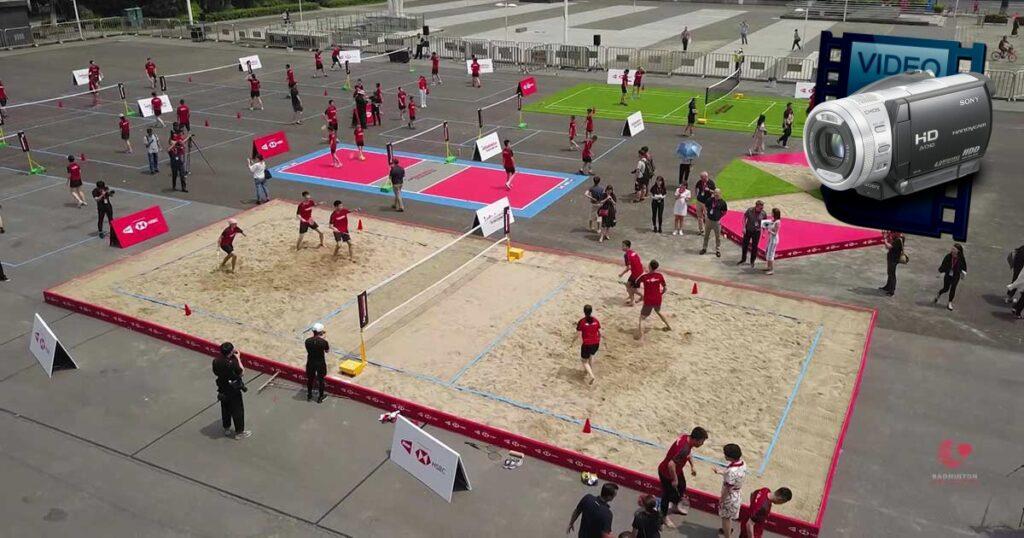 pludmales badmintons
